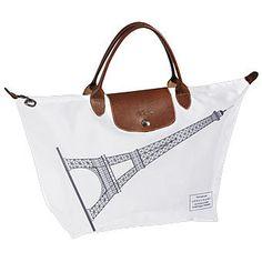 Longchamp Limited Edition Le Pliage Eiffel Tower