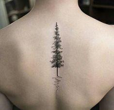 tattoo and tree Bild