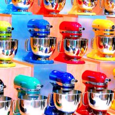 Which Color Kitchenaid Mixer Would You Chose (or Do You Have)?