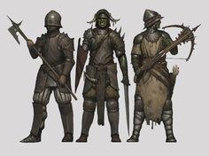 Mercenaries, Ariel Perez on ArtStation at https://www.artstation.com/artwork/nZqn9