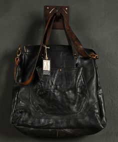 """A collection of vintage """"historical"""" bags. Made by Silent People."""