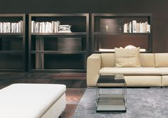 Living room ideas, bookcase inspiration for a luxury lounge