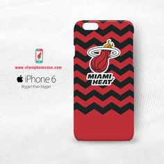 Miami Heat NBA Chevron iPhone 6 6S Cover Case