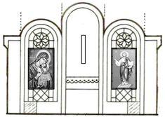 Church History, Easter Art, Sunday School Crafts, New Testament, Catholic, Religion, Mirror, Frame, Saints