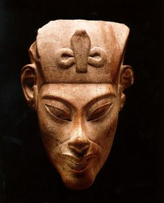 Akhenaten With Serpent and lemnisacte. No wonder people think of aliens forming human civilizations