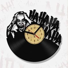 Vinyl Record Clock - I'm not gonna kill you...