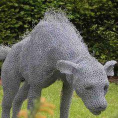 galvanized-wire-animal-sculptures-8 | eMORFES