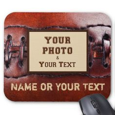 Use cheap one ply touch your inner self bumper sticker paper your photo and text old look football mouse pad cheap gifts diy cyo unique gift negle Images