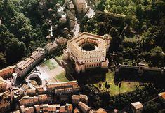 Villa Farnese, Caprarola, Lazio, Italy Architetto... | The Italian Landscapes - Paesaggi italiani