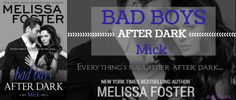 Bad Boys After Dark: Mick Book Tour + Giveaway 7/23