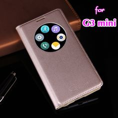 For LG G3 Beat / G3 S G3S / G3 mini D722 D725 D728 D724 Slim Smart View Shell Auto Sleep Wake Function Flip Cover Leather Case #clothing,#shoes,#jewelry,#women,#men,#hats,#watches,#belts,#fashion,#style