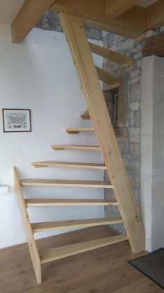 60 Trendy Ideas For Attic Stairs Ideas Stairways Space Saving Attic Stairs, Garage Stairs, Tiny House Stairs, Attic Loft, Staircase Design, Staircase Ideas, Hallway Ideas, Small Space Staircase, Space Saving Staircase