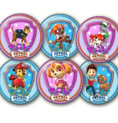 Paw Patrol 2  digital Collage Sheet 24 by elenis4youbanners, €1.44