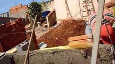 ALICERCE DE ARRIMO CASA PARA TELHADO ''Retaining FOUNDATION HOUSE ROOF''