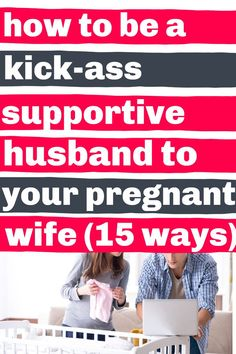 15 practical (and kind of in your face) ideas for how to be a supportive husband during pregnancy. Don't read these unless you actually plan on DOING any of them. But if you did even a few, she'll definitely notice, and you're helping pave the way for a rock solid family of three. Supportive Husband, Pregnant Wife, Pregnancy Advice, How To Plan, Reading, Face, Ideas, Reading Books, The Face