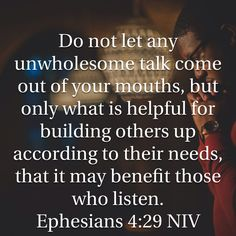 I spoke a lot of unwholesome words today 😔 tomorrow will be better Biblical Quotes, Bible Verses Quotes, Faith Quotes, Wisdom Quotes, Motivation Positive, Prayer Scriptures, Favorite Bible Verses, Thats The Way, Word Of God
