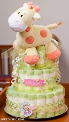 baby girl cake pictures photos and images for facebook tumblr pinterest diy diaper cakebaby shower