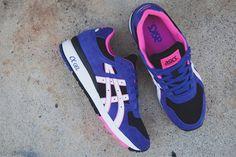Asics GT-II Black/White-Purple-Pink