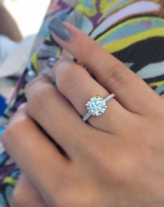 Real customers. Real proposals. Real engagement rings and wedding bands from Blue Nile.