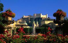 The Schloss at Salzburg, photos | Schloss Mirabell & Mirabellgarten Salzburg