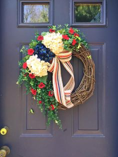 Summer Patriotic wreath