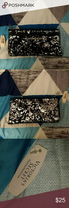 Victoria's secret clutch nwt! ! ! ! ! Victoria's secret clutch. It is new with tags. Victoria's secret  Bags Clutches & Wristlets