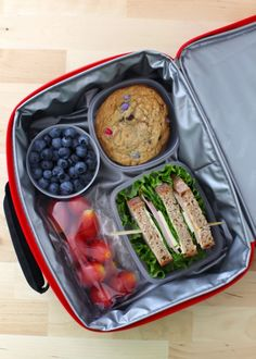 Three ideas for packed lunches - Perfect for packing in a PackIt!