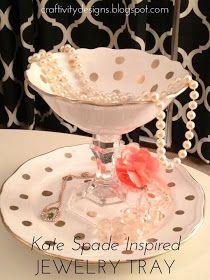 Craftivity Designs: DIY Candlestick Jewelry Stand
