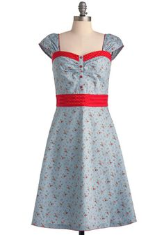 #FlowerShop #Antrhopologie Strawberry Cobbler Dress
