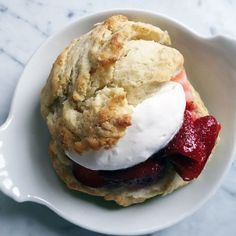 Sweet Cream Strawberry Shortcakes