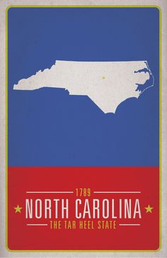 North Carolina, the Tar Heel State