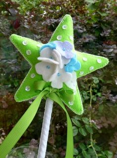 Felt Star Wand (Sheryl, if you see this pin - yes please for Jodie!)