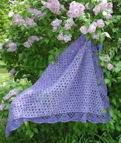Shell Shawl crochet pattern
