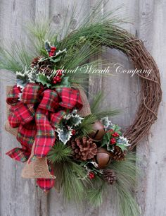 Hey, I found this really awesome Etsy listing at http://www.etsy.com/listing/170427711/christmas-wreath-holiday-wreath-jingle