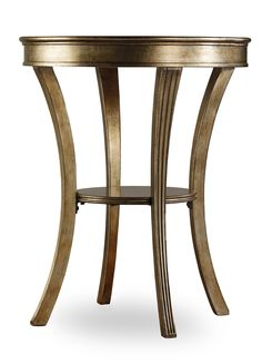 Hooker Furniture Sanctuary Round Mirrored Accent Table 3014-50001
