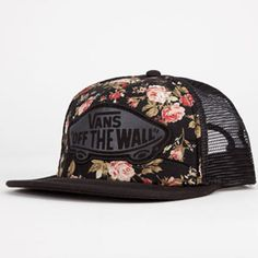 c13e937de88 VANS Beach Girl Womens Trucker Hat - BLKCO - VN-0VCN4FS