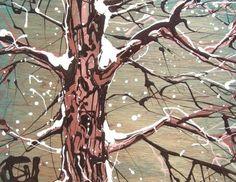 by buchanart  Winter Gloam  http://artsartistsartwork.com/aaa/social/members/buchanart/