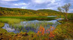 September (Reidar Trekkvold) Tags: autumn nature water norway landscape natur vann nordnorge høst harstad troms aunfjellet