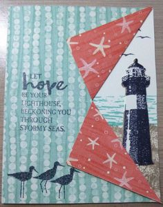 High Tide stamp set from stampin up