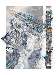 Gallery of Stellar Drawings Selected as Winners of WAF's Inaugural Architecture Drawing Prize - 39