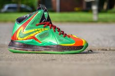 separation shoes 8808c f845f nike lebron x weatherman customs by dmc kicks 03 900x596 Nike LeBron X  Weatherman Customs by