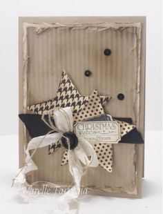 LOVE LETTER DSP, STAMPIN UP, THAT'S THE TICKET, VERY VANILLA SEAM BINDING, VINTAGE CHRISTMAS CARD