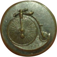 The Village - Antique Bicycle Button Boneshaker Novelty