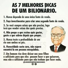 Warren Buffet Frases, Start Ups, Financial Tips, Better Life, Stock Market, Personal Development, Saving Money, Digital Marketing, Investing