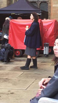 News   New Photo Cait is on the set of the season 3 :-)
