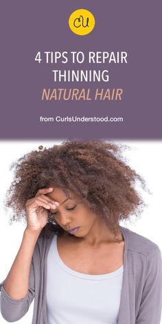 Alopecia on natural hair is preventable but you must take action now if you notice your curls are thinning in certain areas. Read these 4 tips. Natural Hair Growth Tips, Natural Hair Regimen, Natural Hair Styles, Natural Afro Hairstyles, Curled Hairstyles, Trendy Hairstyles, Thin Curly Hair, Natural Hair Inspiration, Textured Hair