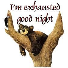 Nightie nights!!!!!   Sleep well and have good dreams!♥