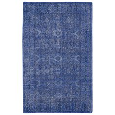 """Each rug is intentionally distressed by hand-shearing for authenticity, over-dyed colors for beautiful style, and complete with the smallest little details for the perfect replica of a vintage antique rug.  A 100% natural """"green"""" product."""