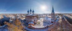 Annunciation Monastery. Dunilovo. Ivanovo, Russia. airpano.com