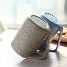 Mugs that can be propped up on their handles for easy drying.   31 Awesome And Inexpensive Things You Need For Your Kitchen